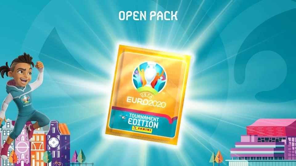 UEFA EURO 2020 Panini Virtual Sticker Album1