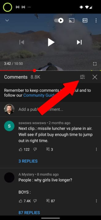 YouTube Timed Comments Feature 2