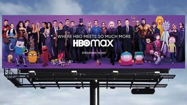 hbo max billboard