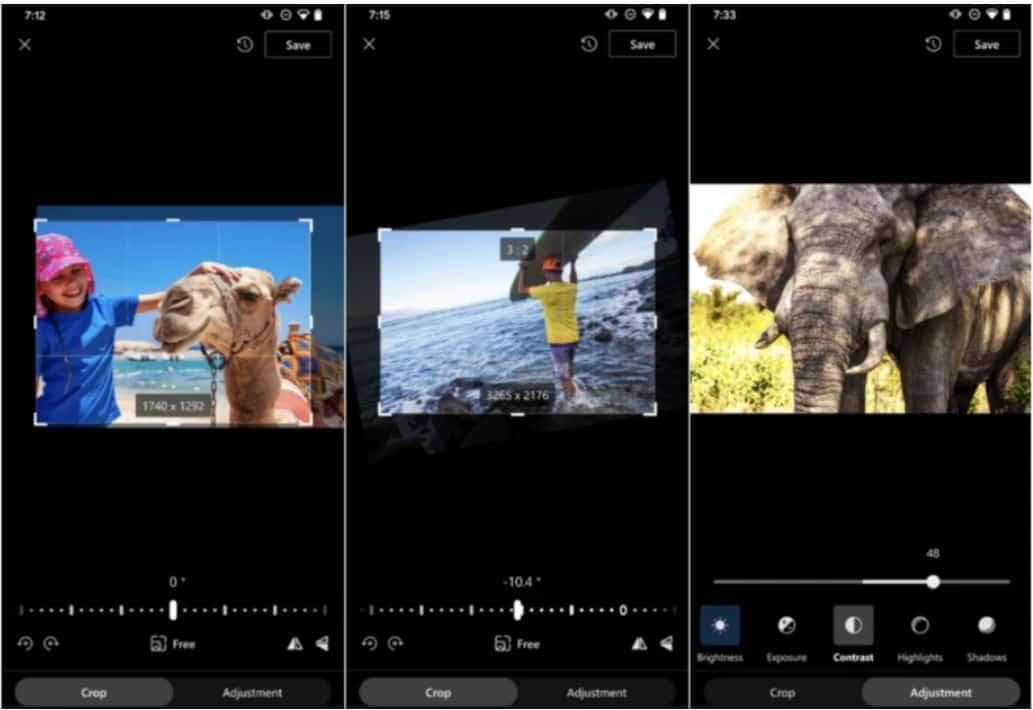 microsoft onedrive photo editing feature