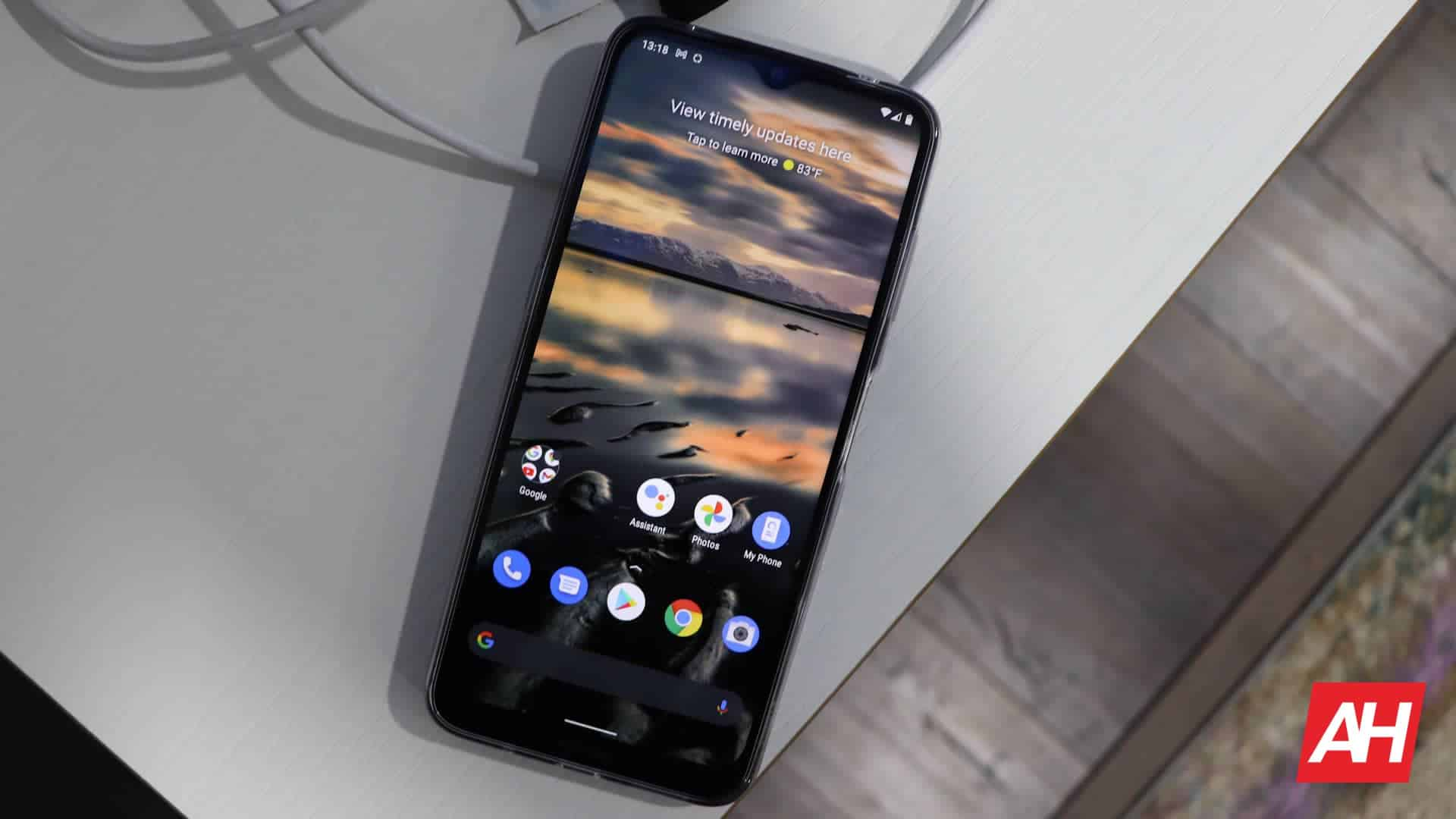02 Nokia G20 Review display DG AH 2021