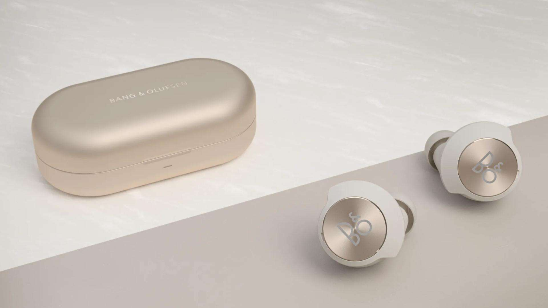 Bang Olufsen Beoplay EQ announcement lifestyle presser in gold