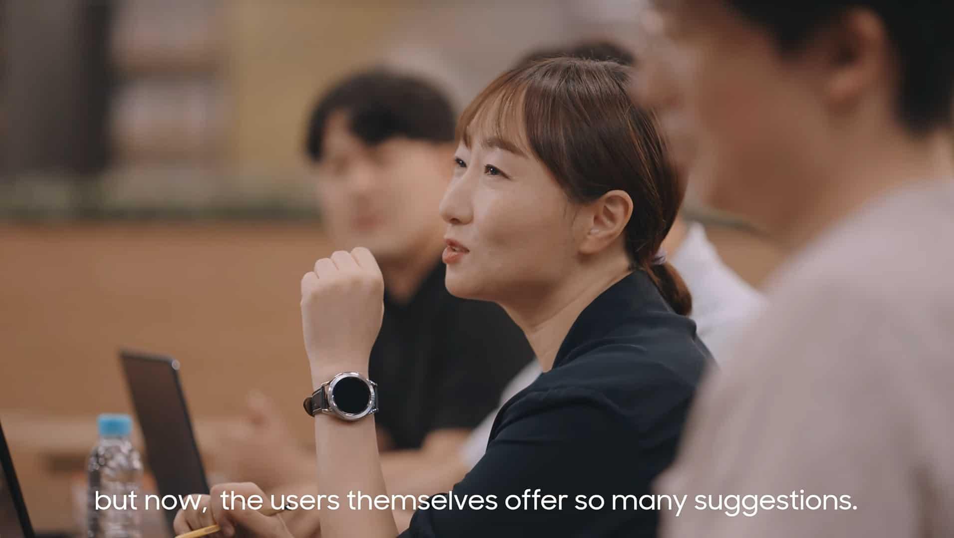 Galaxy Watch 4 Classic Samsung promo video