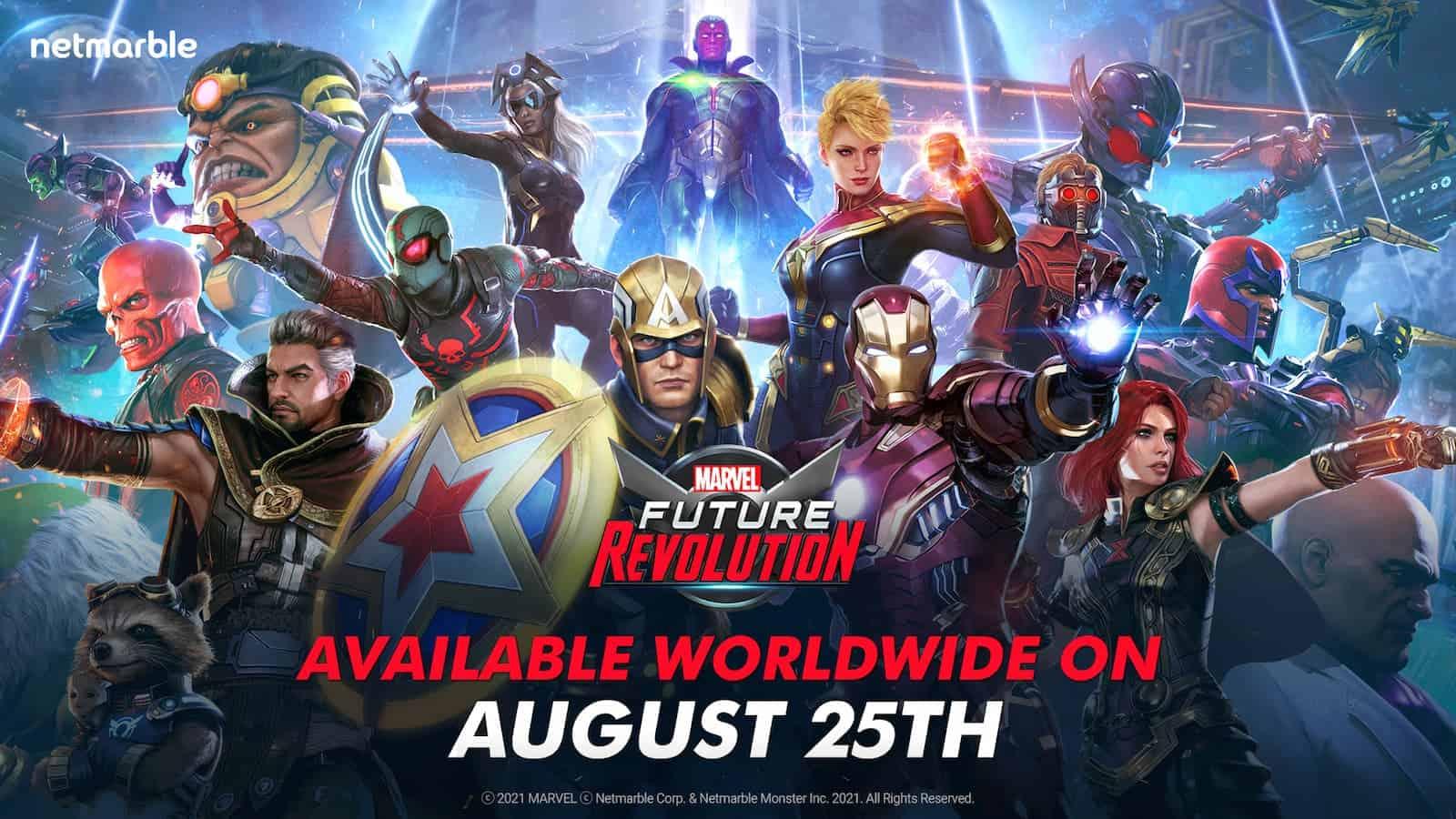 Marvel Future Revolution Launch Date