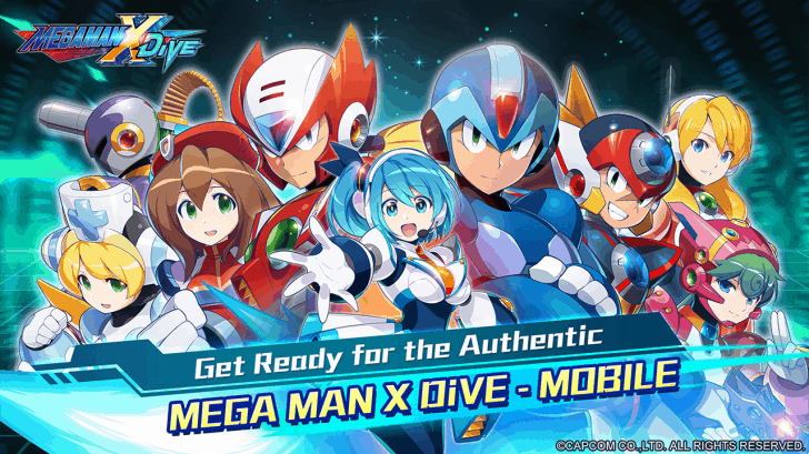 Megaman X Dive For Android Is Available For Pre-Registration