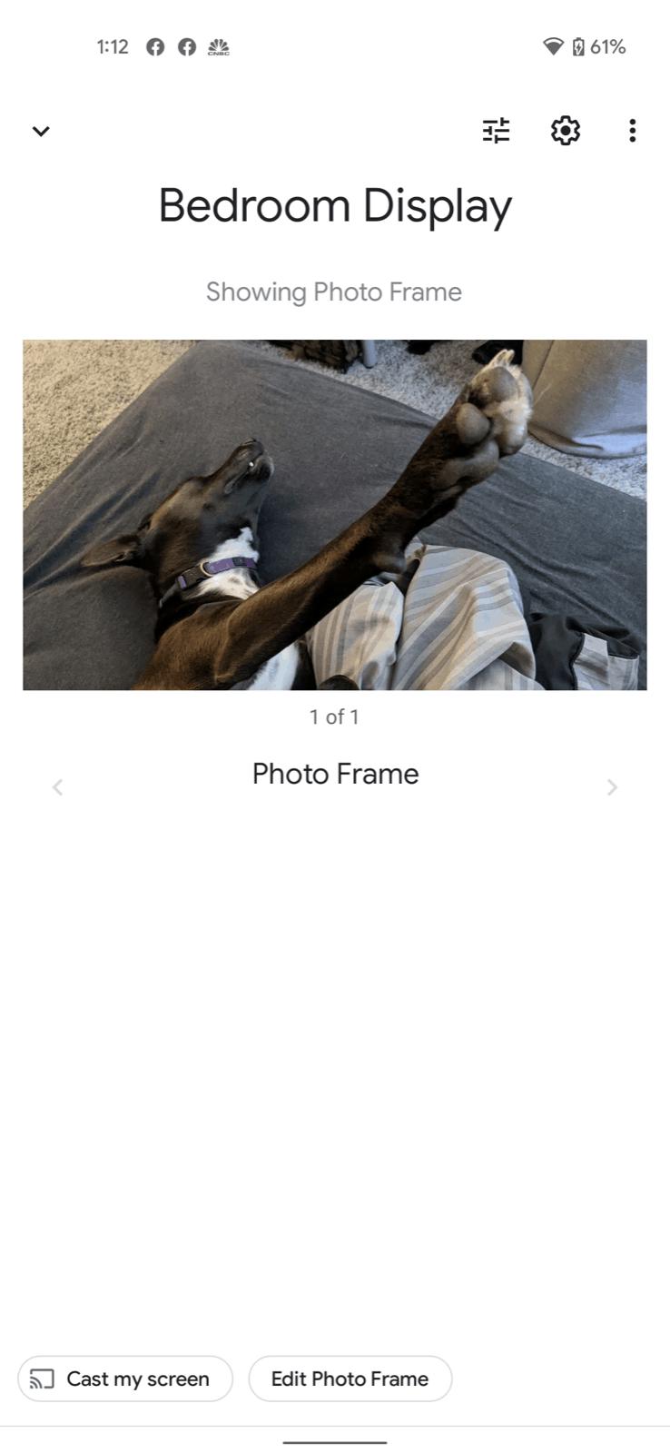 hand gestures nest hub screenshots 2