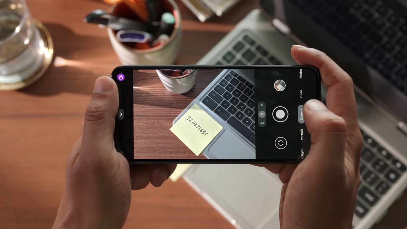 Google Pixel 5a promo video screenshot