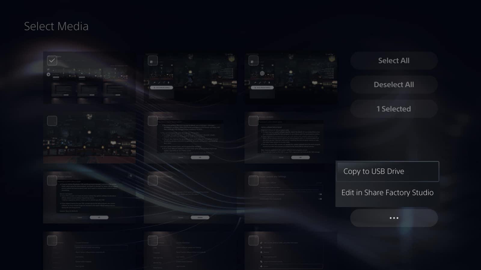 PS5 Screenshots Transfer 9