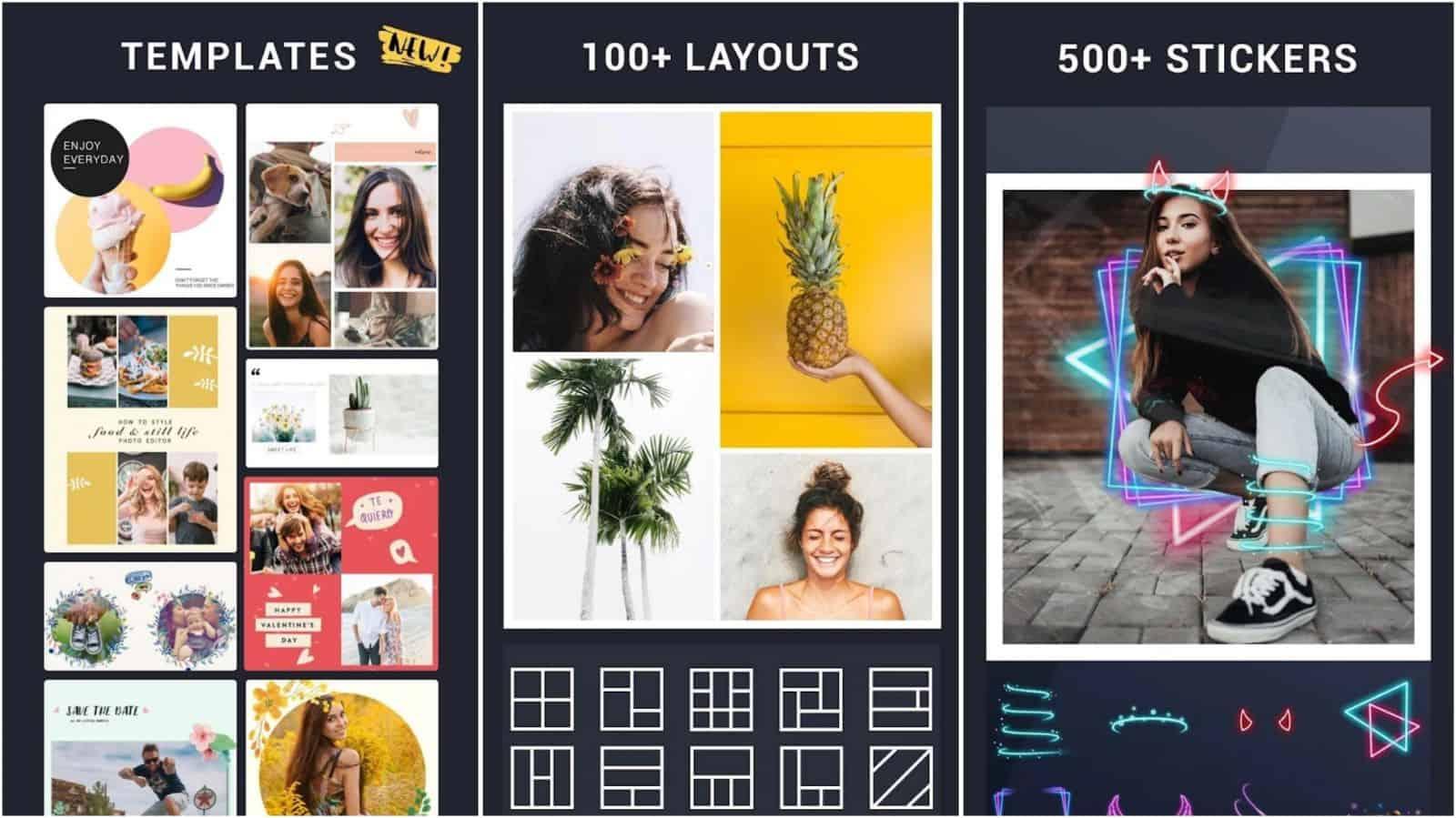 Photo Collage Maker app grid image