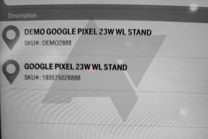 Pixel Stand 23W Pixel 6 wireless charging