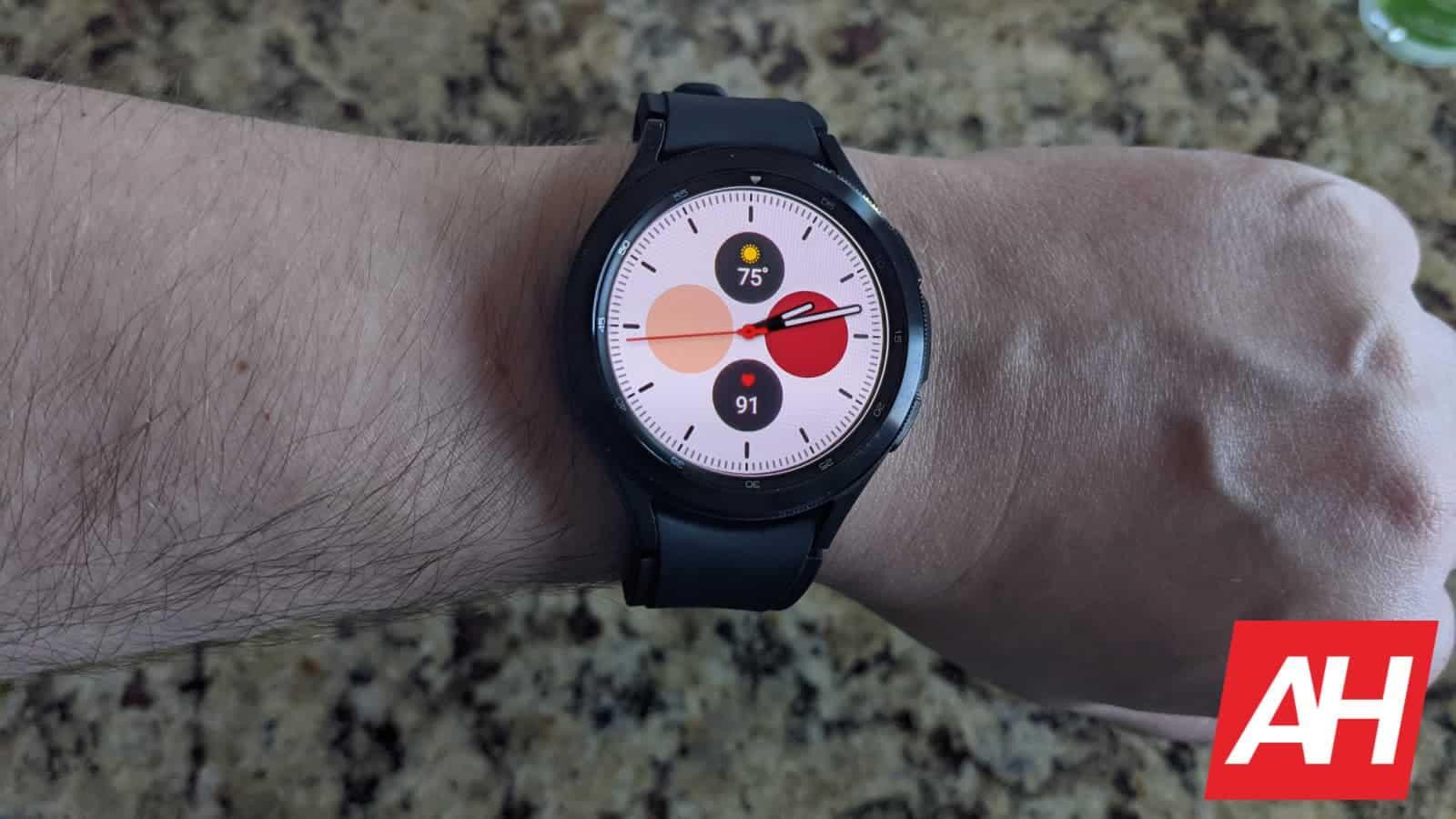 Samsung Galaxy Watch 4 Classic Hands On 4