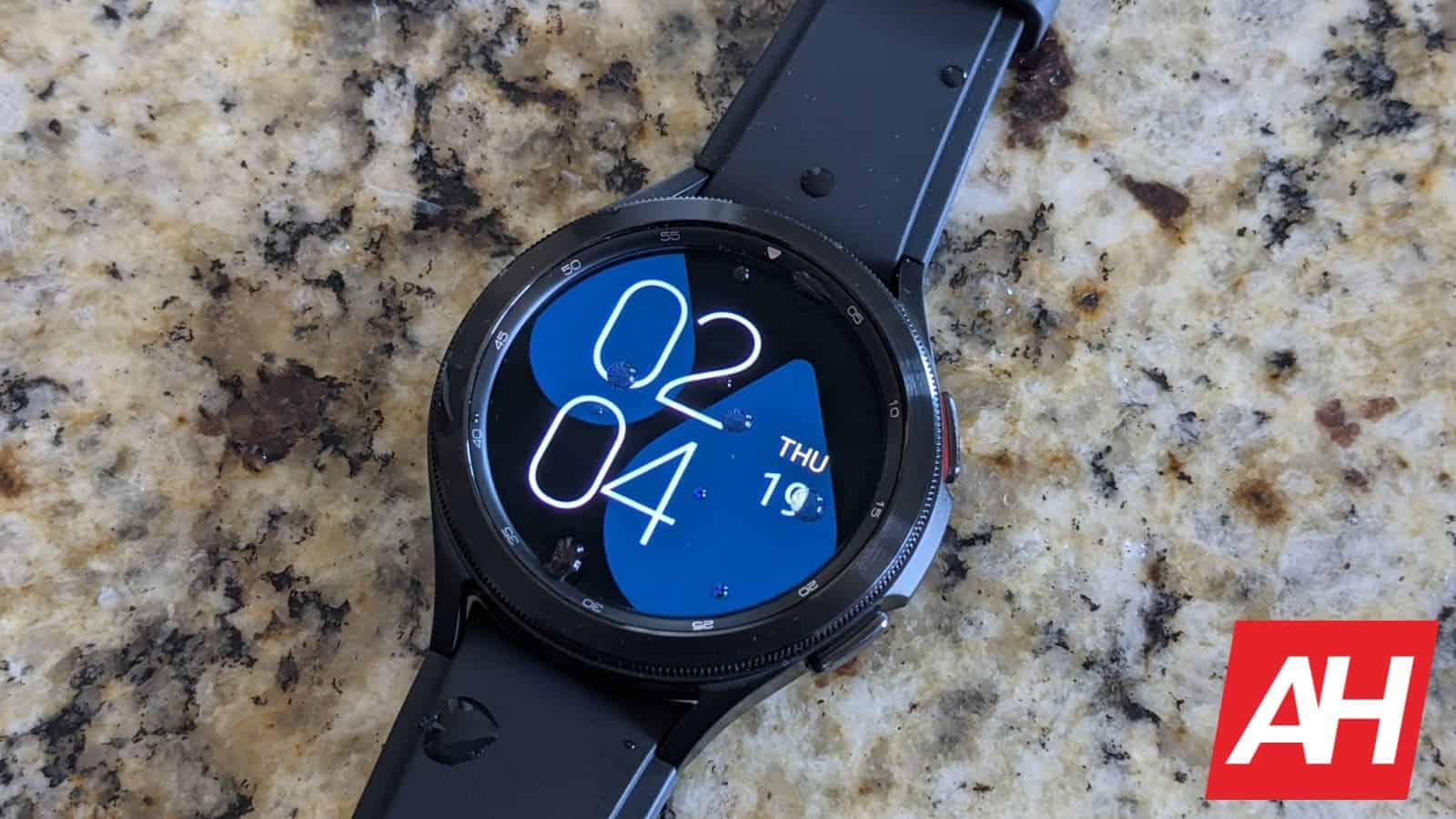 Samsung Galaxy Watch 4 Classic Hands On 8