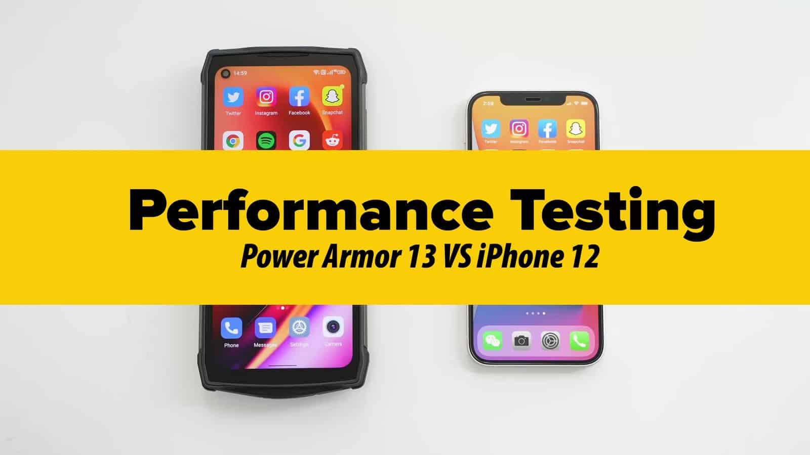 Ulefone Power Armor 13 performance test