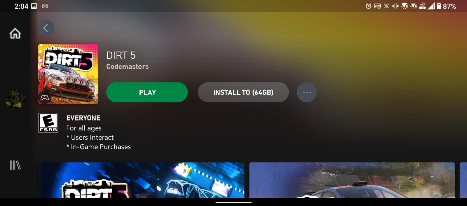 Xbox Game Pass Android 3