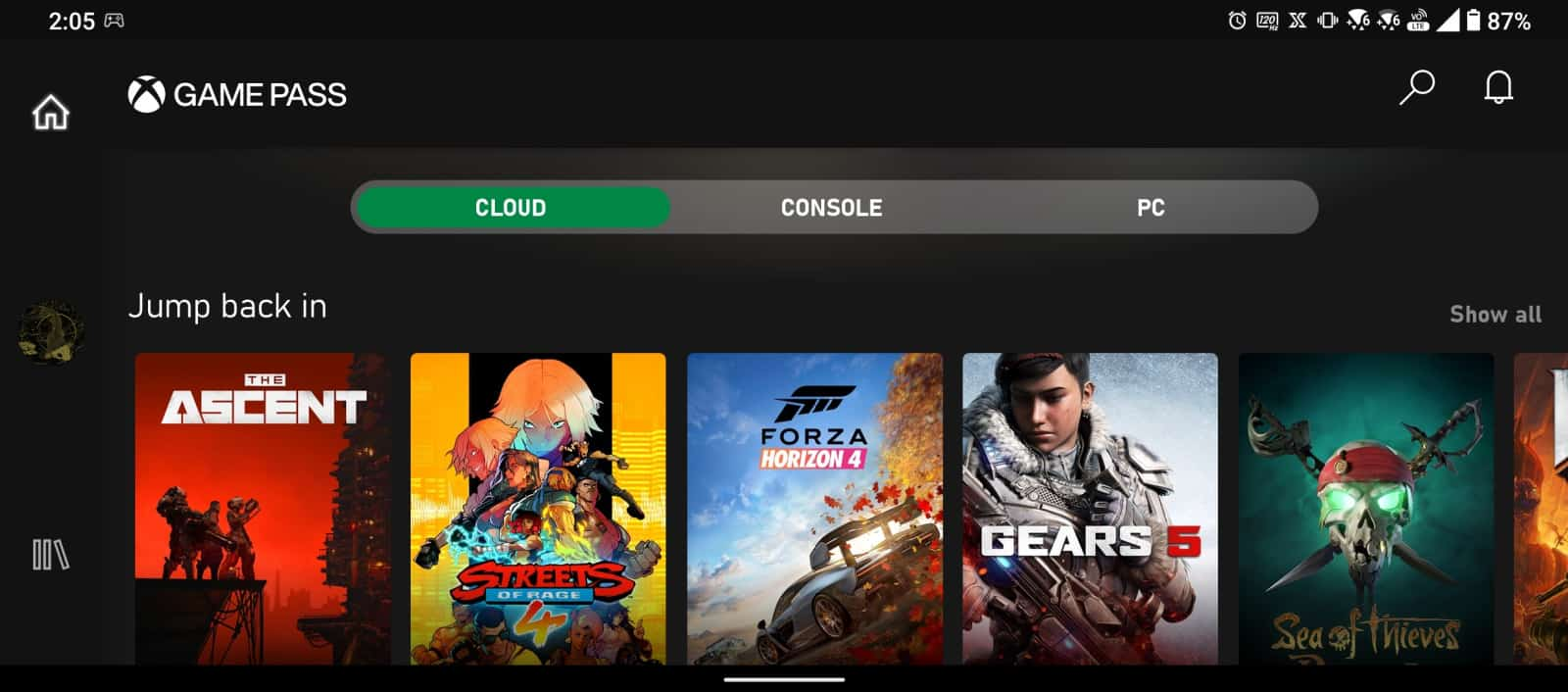 Xbox Game Pass Android 4