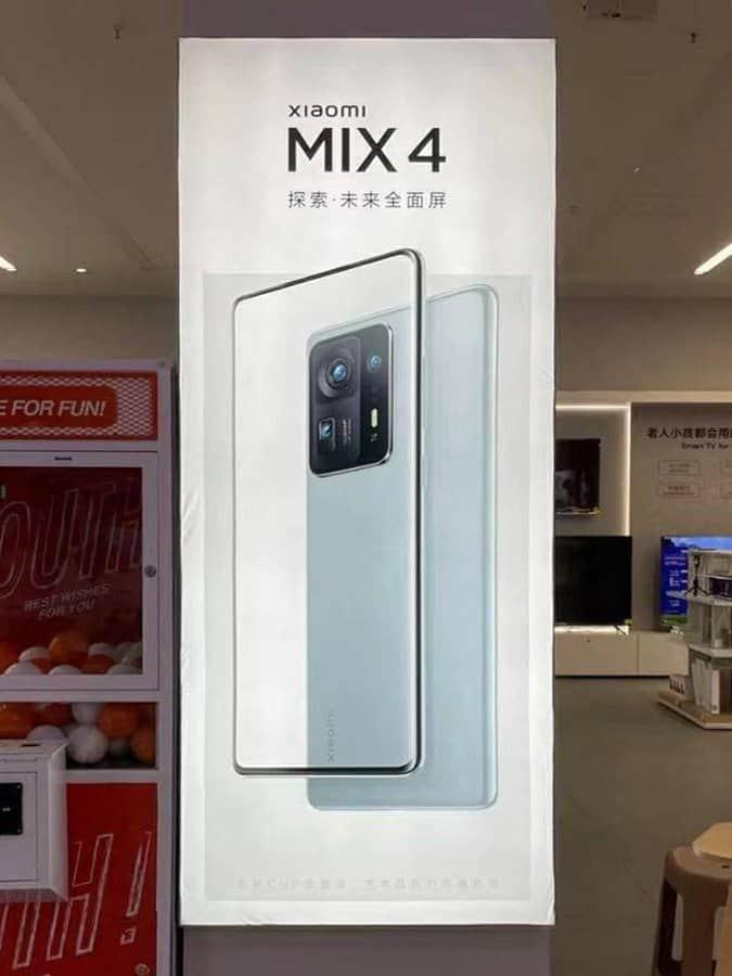 Xiaomi Mi MIX 4 poster leak
