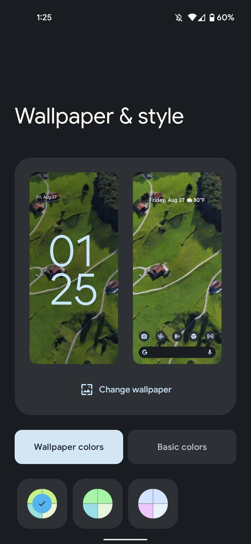 pixel live wallpaper app dynamic color