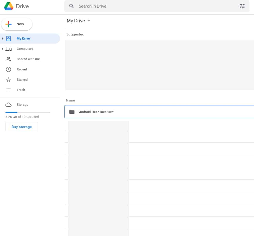 How to share a Google Drive folder from a browser 1
