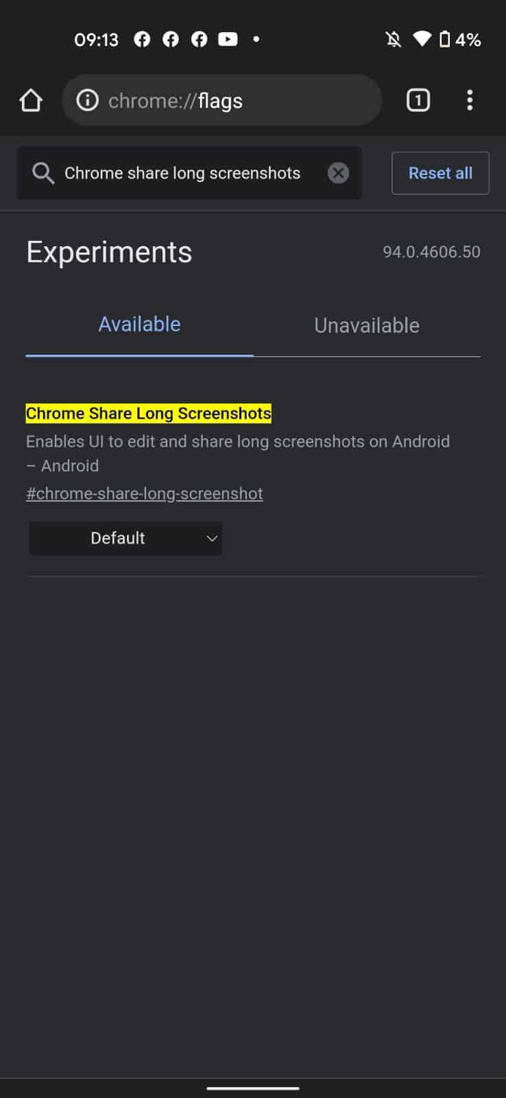 How to take scrollong screenshot Chrome 2