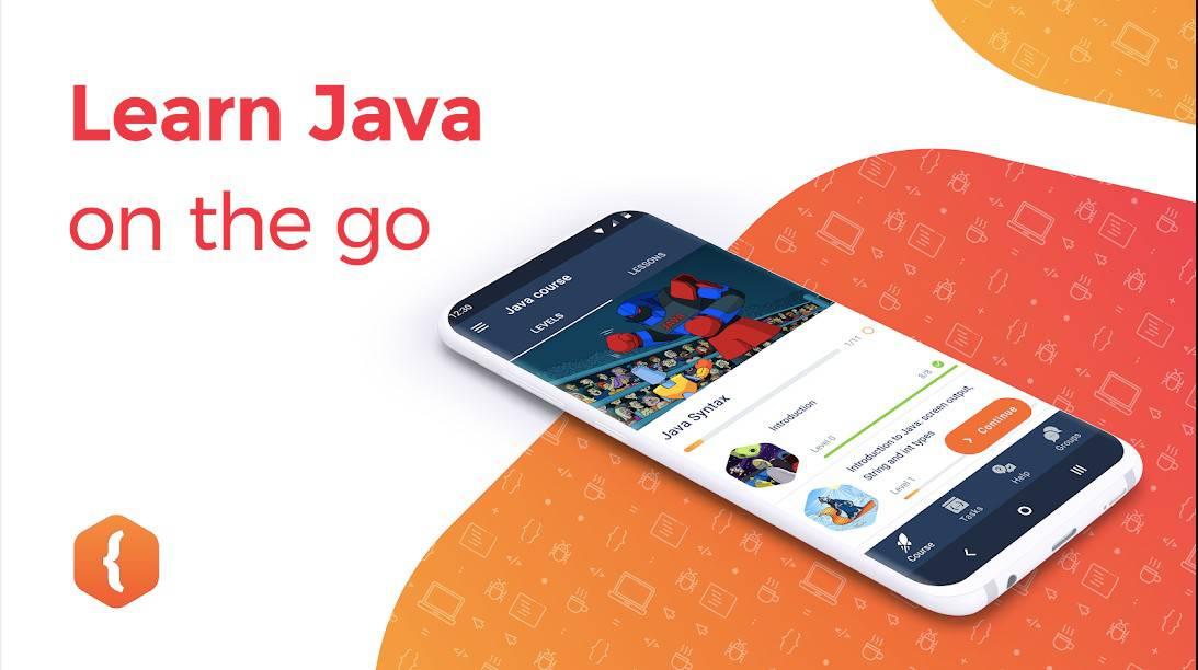 Learn Java on the go