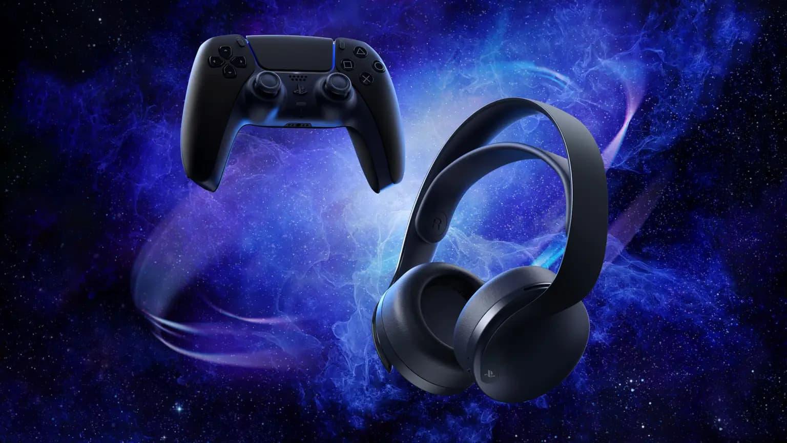 Midnight Black Pulse 3D Wireless Headset 1