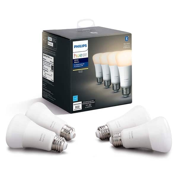 Philips Hue dimmable smart bulbs white render 1