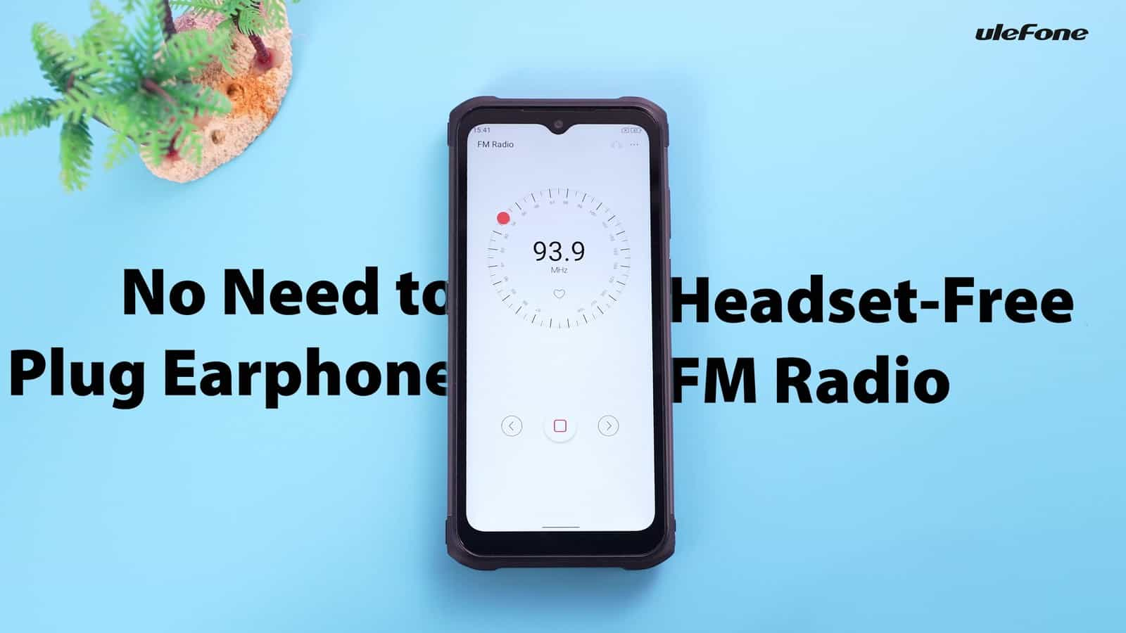 Ulefone Armor 12 5G headset free FM Radio