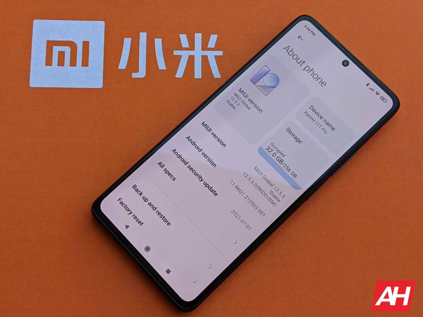Xiaomi 11T Pro AH HR Software