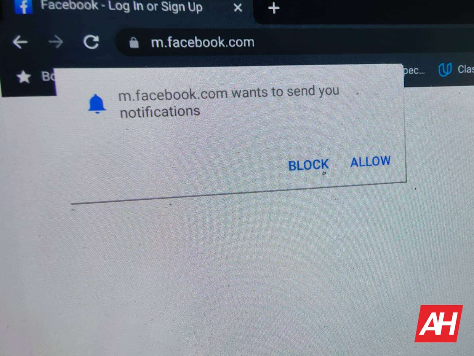 how to turn off Chrome notifications DG AH 2021 1