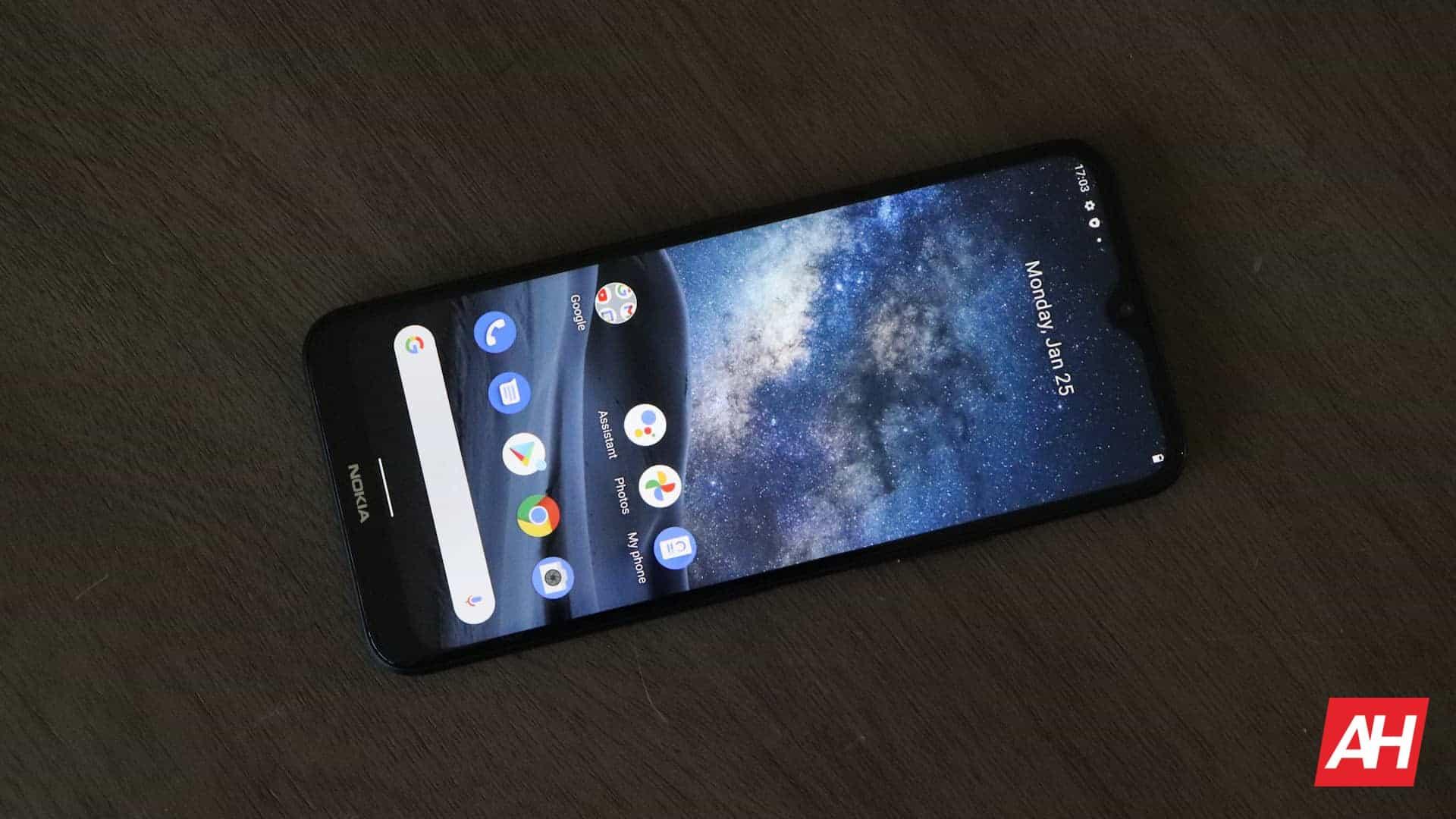 02 Nokia G50 Review display DG AH 2021