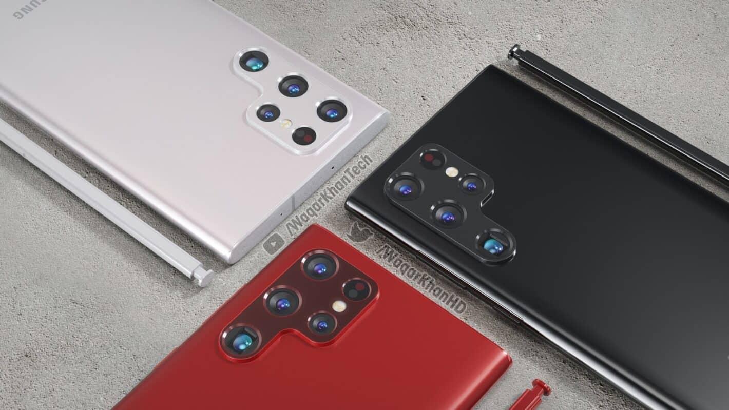 Imagen 5 de Waqar Khan del concepto Galaxy S22 Ultra