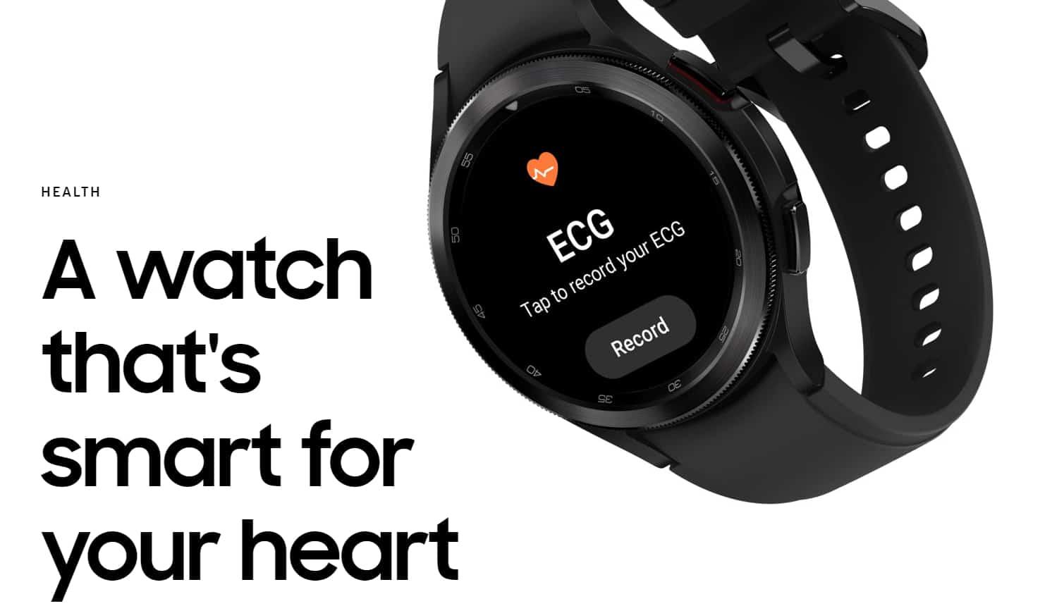 Galaxy Watch 4 ECG Reader