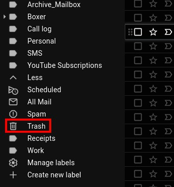 How to delete email Gmail permanently dekstop 6
