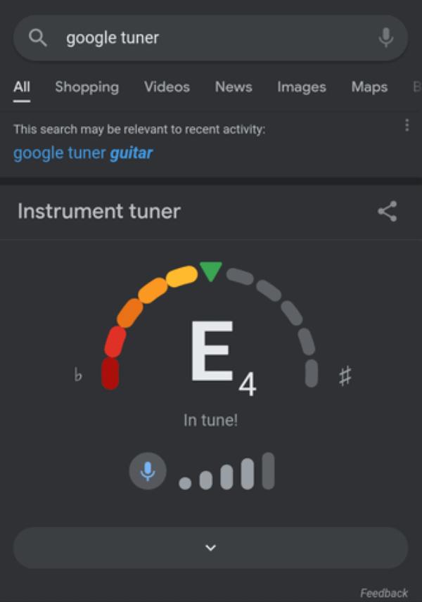 Google Tune Your Guitar